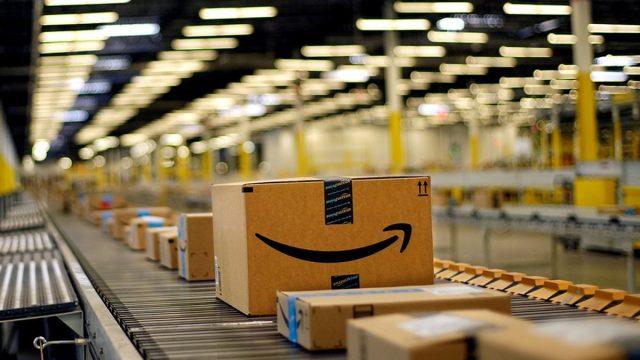 Amazon, Centros de Distribución,