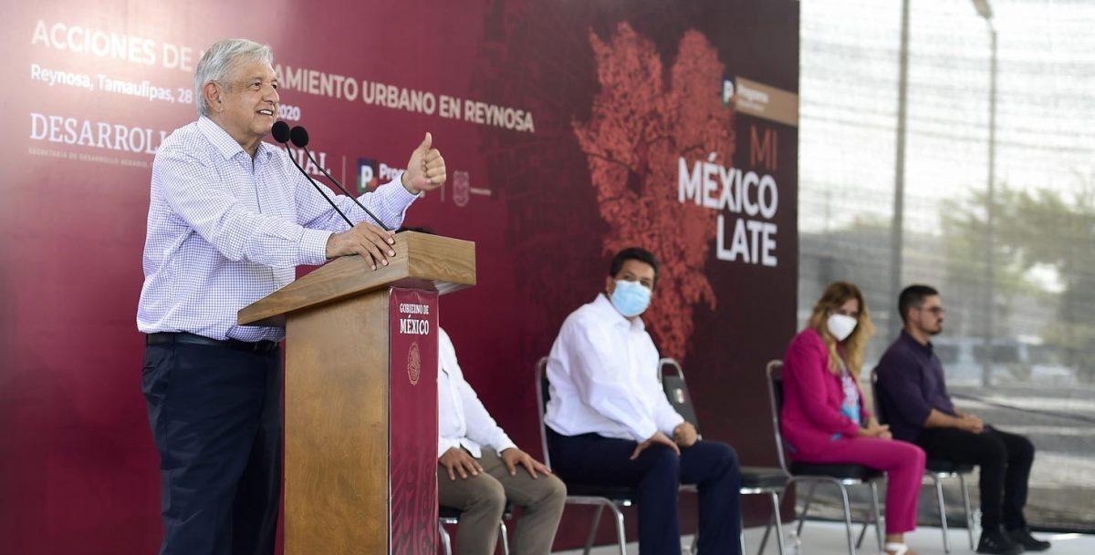Acusa AMLO a ONGs de recibir dinero para atacar el Tren Maya