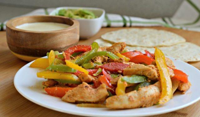 Fajitas de pollo (Imagen: Unsplash)