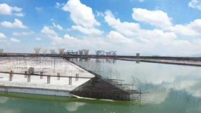 ¿De qué magnitud es la inundación del NAICM?