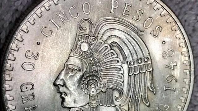 Moneda de Cuauhtémoc se vende hasta en mil pesos (Imagen: Mercado Libre)