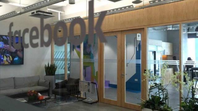 Oficina de Facebook (Imagen: Facebook)