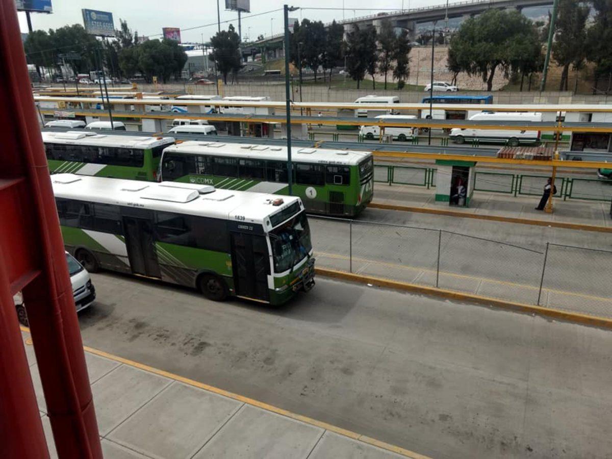 Operadores de transporte público recibirán seguridad social del IMSS