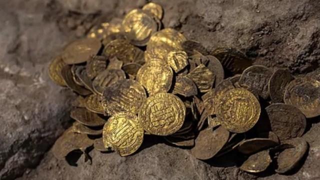 Monedas de oro puro (Imagen: dinero.com)