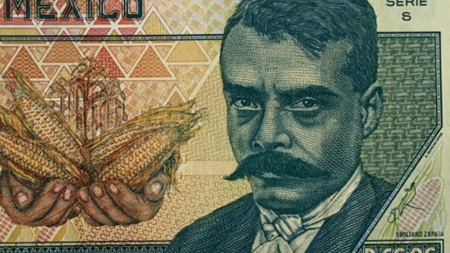 Emiliano Zapata en billete de 10 pesos en 1994 (Imagen: Twitter @mariettanumis)