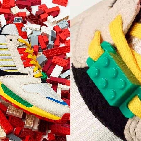 Adidas y Lego lanzan tenis inspirados en bloques de juguetes