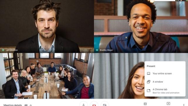 Google Meet, Video llamadas, Video conferencia