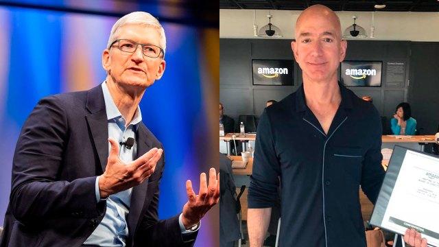 Regla del silencio incómodo, secreto del éxito de Tim Cook y Jeff Bezos