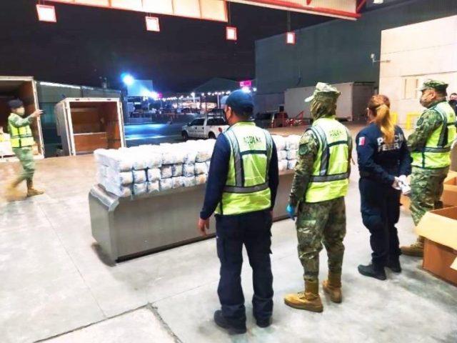 Operativo aduanas de México (Imagen: Twitter @soloboletines)