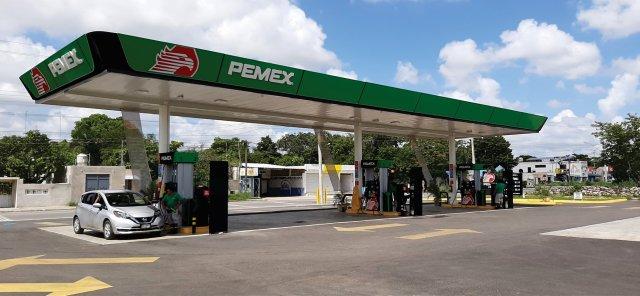 gasolinería pemex, mercado de gasolina