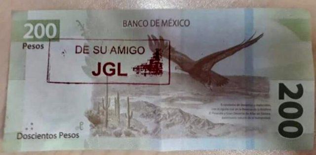 Billetes del Chapo Guzmán