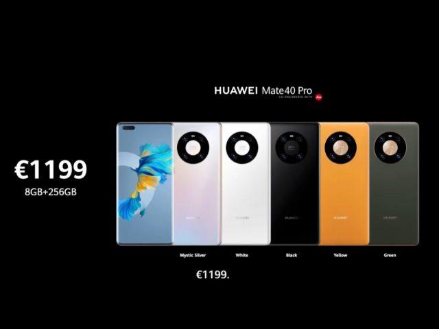Precio del Huawei Mate 40 Pro