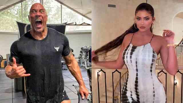 """En Instagram Dwayne Johnson """"La Roca"""" y Kylie Jenner son los mejores pagados"""