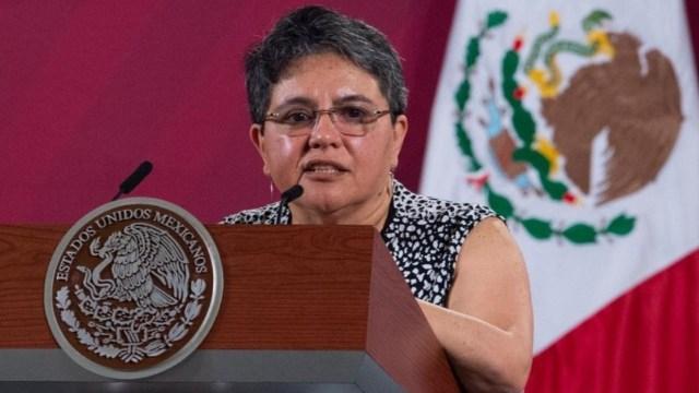 Raquel Buenrostro, jefa del SAT, da positivo a coronavirus