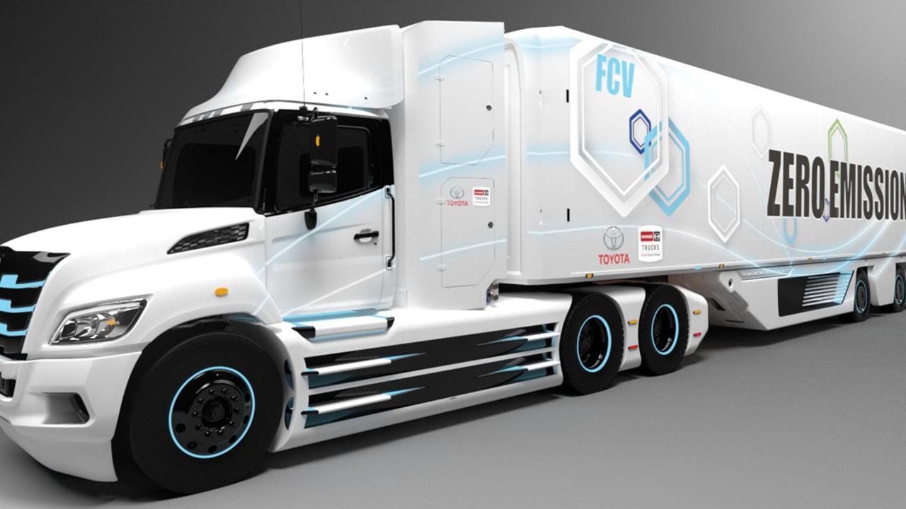 Toyota desarrolla camión eléctrico de hidrógeno