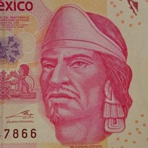Venden billete de 100 pesos de Nezahualcóyotl en más de mil pesos