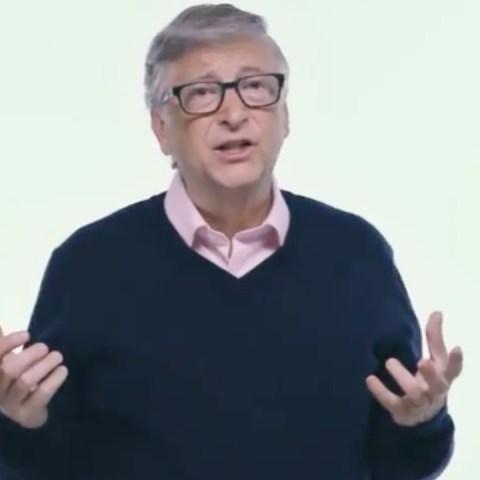 El fundador de Microsoft, Bill Gates (Imagen: Twitter @gatesfoundation)