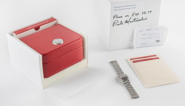 Caja reloj que estuvo 188 días en el espacio (Imagen: Omega)