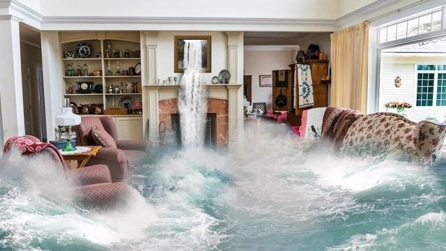 Inundación de una casa (Imagen: pixabay)
