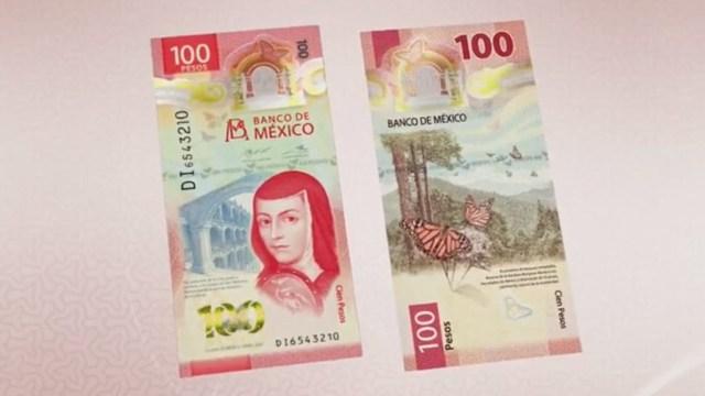 Banxico presenta nuevo billete de 100 pesos con la imagen de Sor Juana