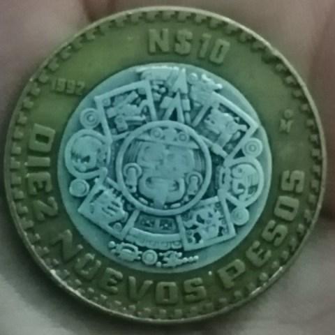 Moneda de 10 pesos se vende en más de 2 mil pesos
