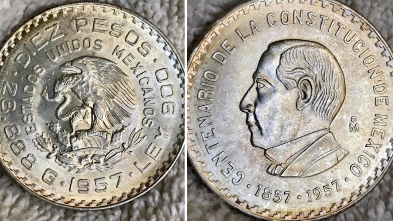 Moneda de Benito Juárez se vende en casi 2 mil pesos