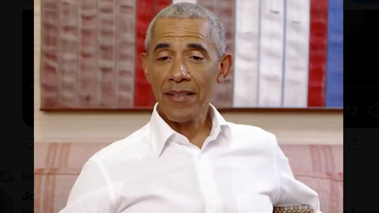 El expresidente de EU Barack Obama (Imagen: Twitter @BarackObama)