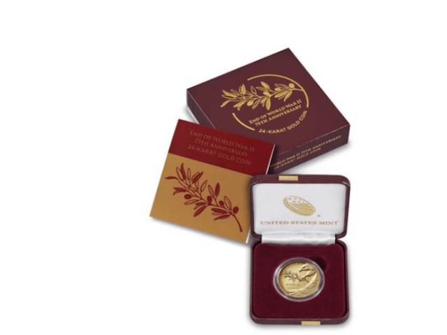 Catálogo de moneda de oro de Casa de Moneda de Estados Unidos (Imagen: usmint.gov)