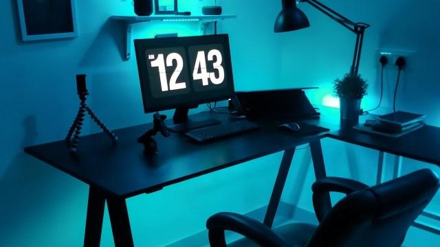 Tener tu propia oficina en casa es más facíl de lo que pensabas (Imagen: pixlr)