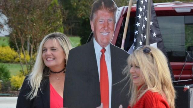 Ciudadanos pro Trump (Imagen: mooresvilletribune)
