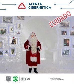 La Policía Cibernética así alertó a la población sobre la extorsión de Santa Claus