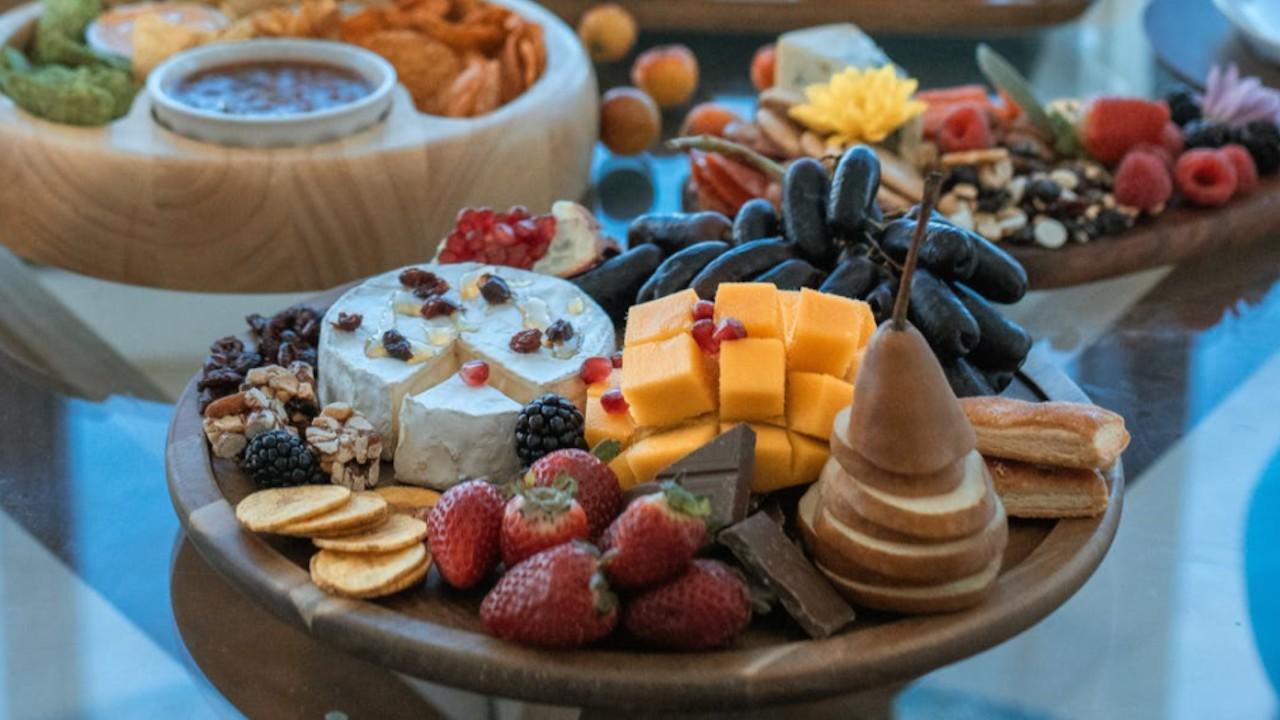 Tabla de quesos (Imagen: pexels)