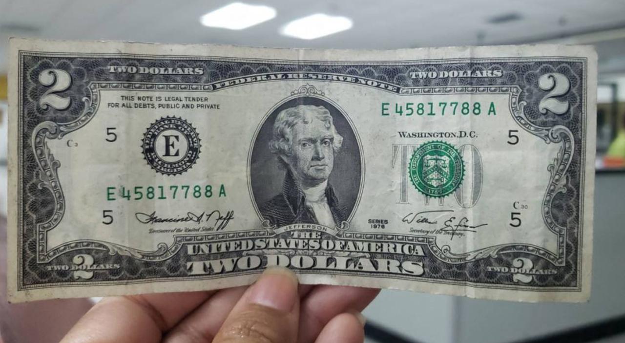 Historial del Billete de 2 dólares