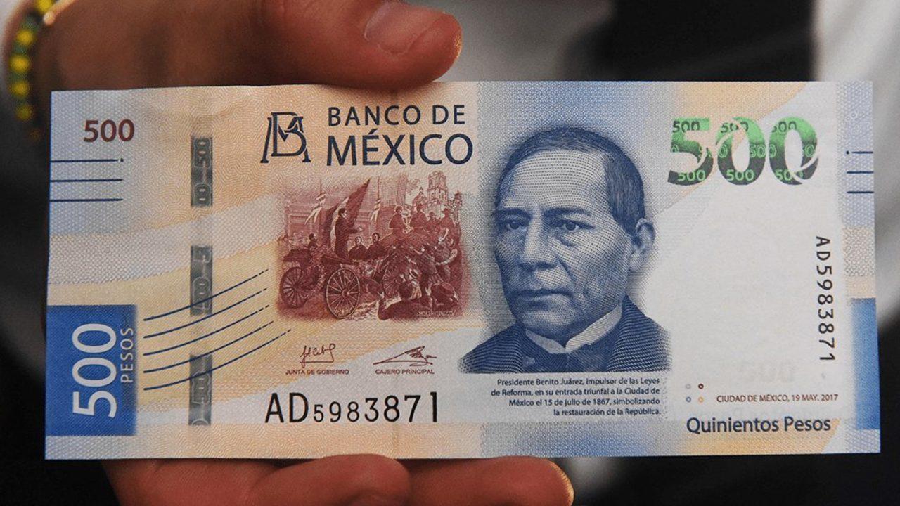 Debe tener esto un billete de 500 pesos si lo quieres vender en 44 mil pesos