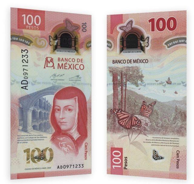 billete 100 pesos