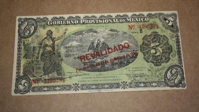 Venta de billetes antiguos