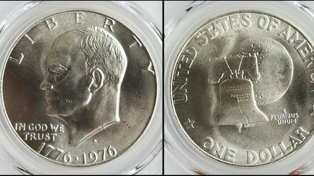 Eisenhower Liberty Silver Dollar es la moneda que se vende en 20 mil pesos