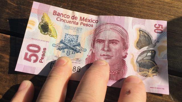 Se venden 50 pesos en casi 3 mil pesos