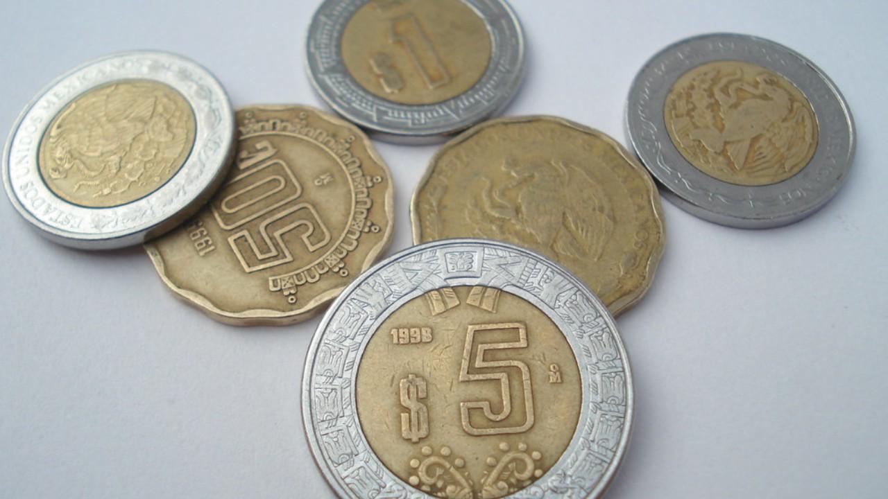 Moneda de 5 pesos que cuesta 20 mil pesos