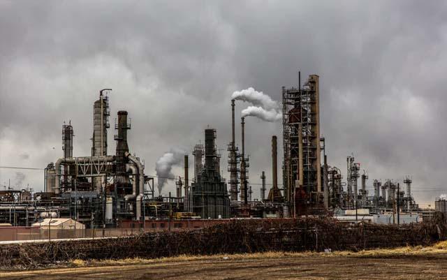 Construcción de refinería