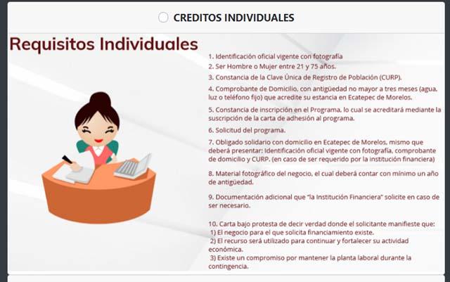 créditos a micronegocios