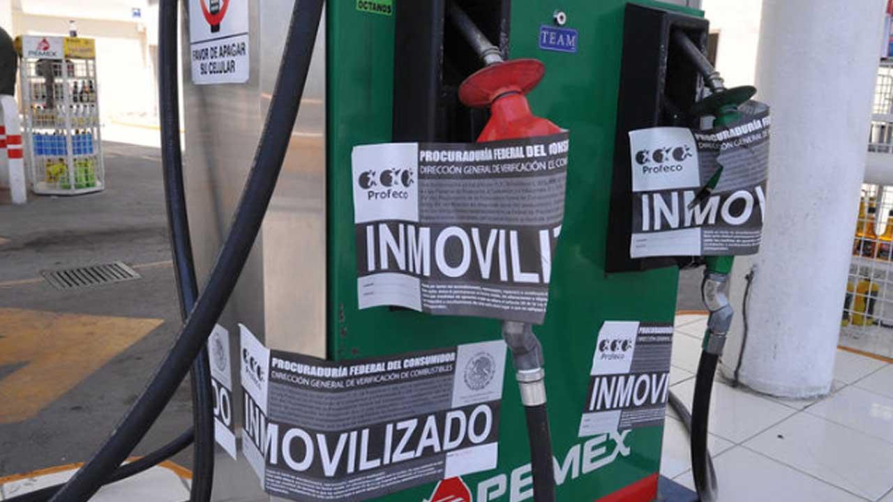 Rastrillos en gasolineras