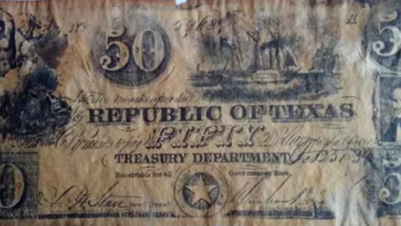 Este billete de 50 dólares se vende en 2 mil dólares