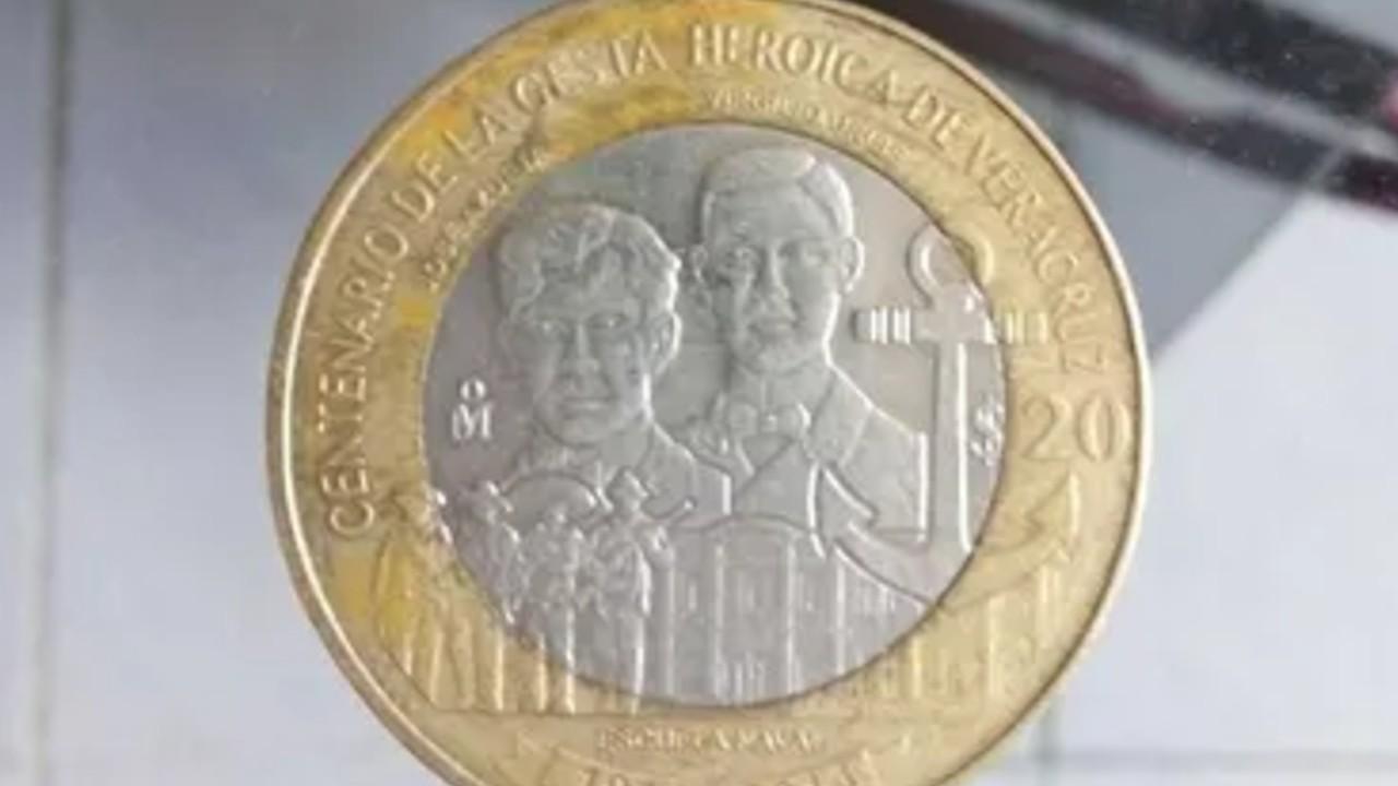 Esto hace especial a moneda de 20 pesos que se vende en 10 mil pesos