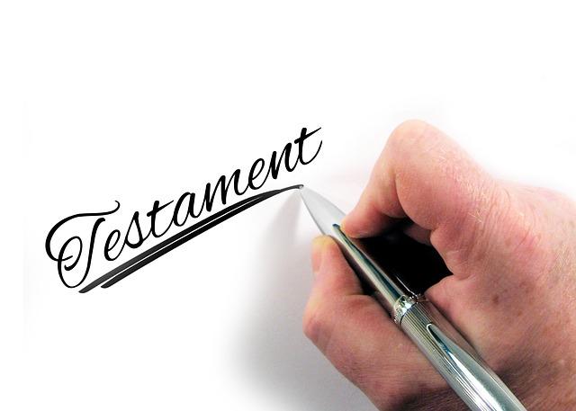 El testamento te ayuda a repartir tus bienes como mejor desees
