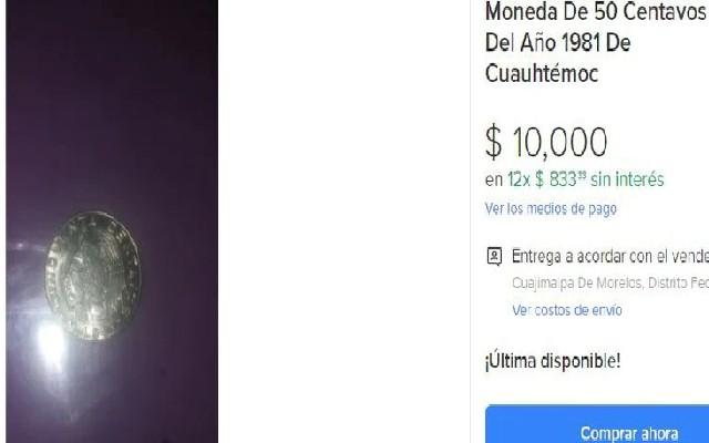 Esta es una de las ofertas que aparece en internet