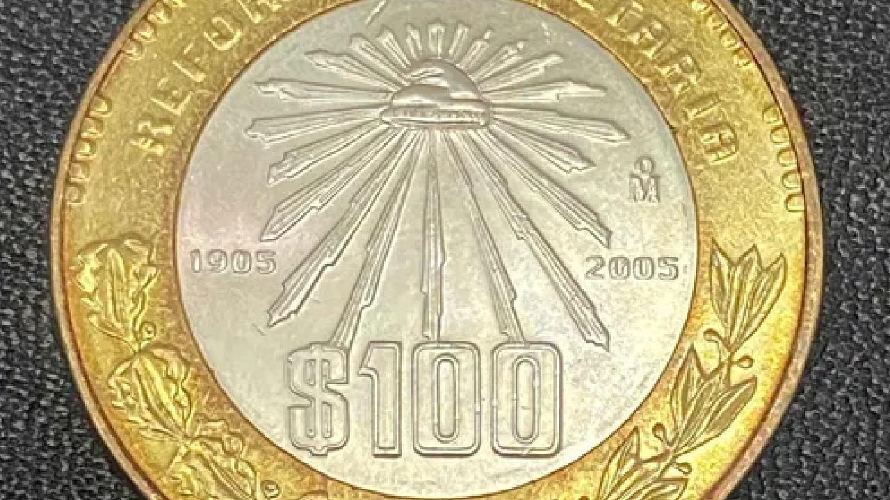 Estas monedas de 100 pesos se venden en casi 5 mil pesos