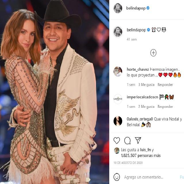 La pareja comparte constantemente su cariño en redes sociales