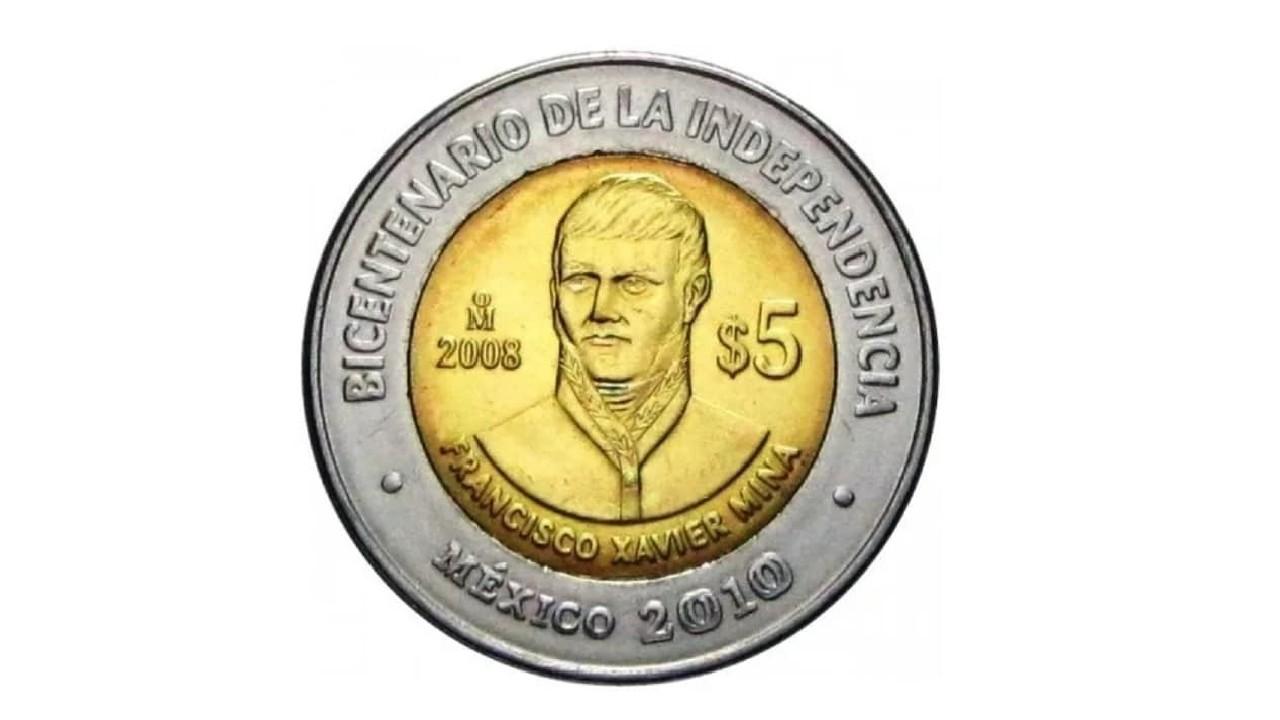 Por esta razón una moneda de 5 pesos se vende en mil pesos en internet