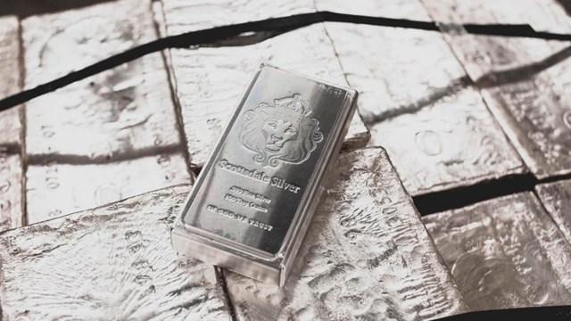 Calcula el valor de la plata